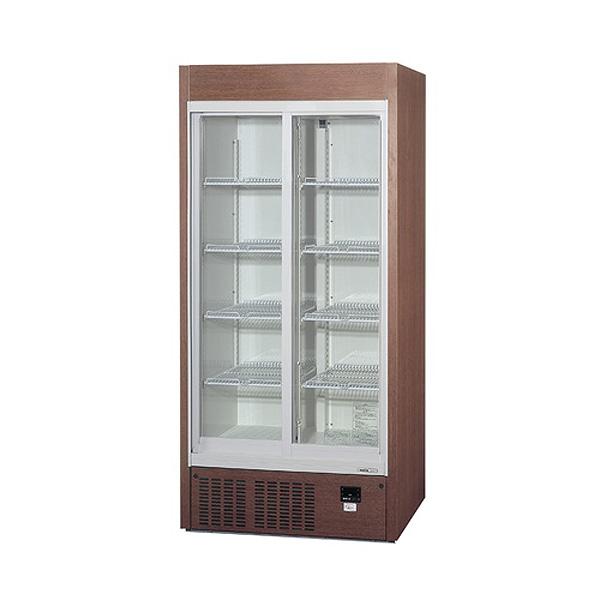 新品:パナソニックリーチイン冷蔵ショーケース スライド扉タイプ 310リットル幅900×奥行450×高さ1900(mm)SRM-RV319SMB