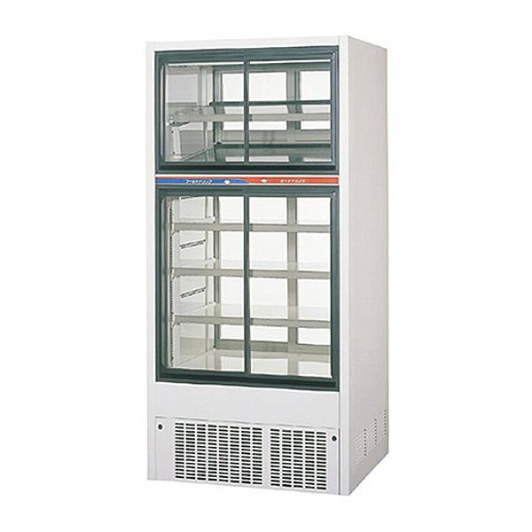 新品 パナソニックリーチイン冷蔵温蔵ショーケース スライド扉タイプ 上208リットル/下346リットル幅900×奥行700(+37)×高さ1900(mm)SRM-R901CHC