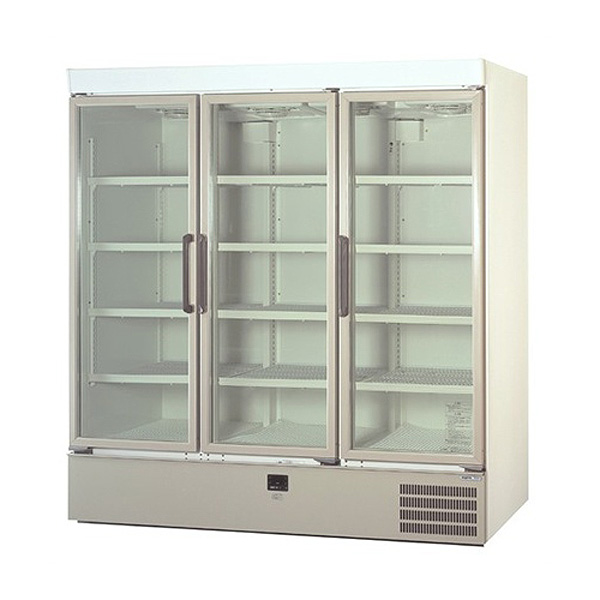 新品 パナソニックリーチイン冷蔵ショーケース スイング扉タイプ 1129リットル幅1800×奥行640+(35)×高さ1900(mm)SRM-661NB