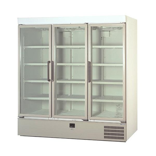 新品:パナソニックリーチイン冷蔵ショーケース スイング扉タイプ 1129リットル幅1800×奥行640+(35)×高さ1900(mm)SRM-663NB