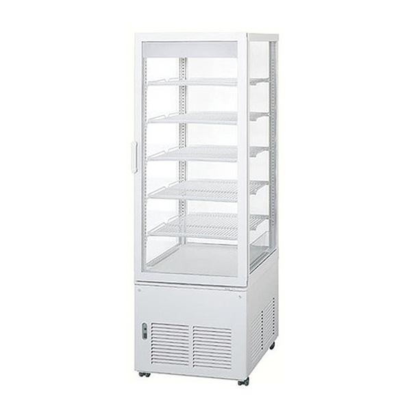 新品 パナソニックタテ型5面ガラス冷蔵ショーケース 180リットル幅510×奥行535+(23)×高さ1495(mm)SSR-221N