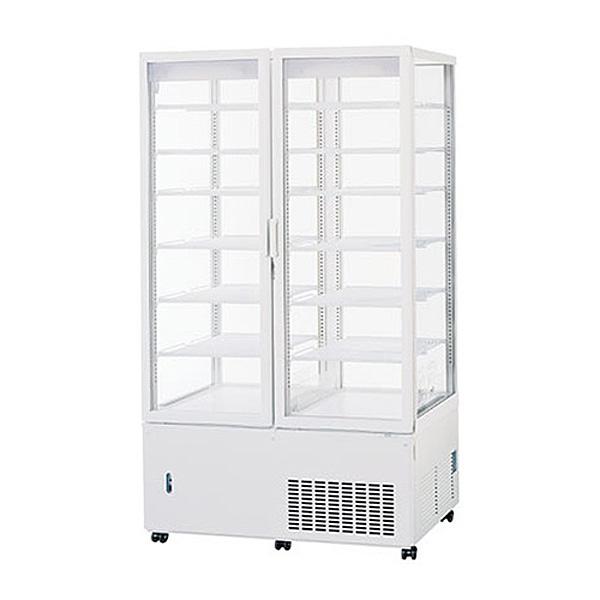 新品:パナソニックタテ型5面ガラス冷蔵ショーケース 456リットル幅1030×奥行535+(23)×高さ1785(mm)SSR-561N