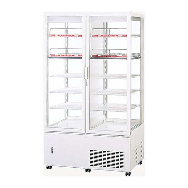 新品 パナソニックタテ型4面ガラス冷蔵ショーケース 冷蔵312リットル・温蔵124リットル パススルータイプ幅1030×奥行535+(46)×高さ1780(mm)SSR-561CHN