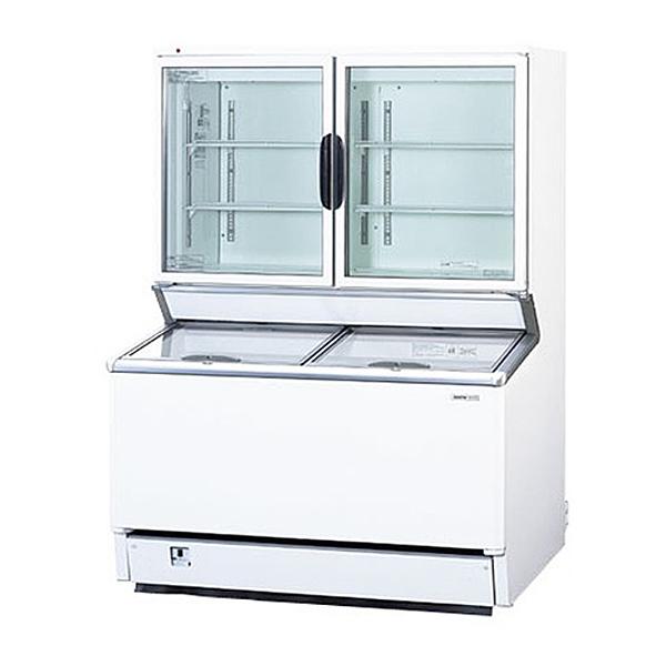 新品 パナソニック デュアル型冷凍ショーケース(アイスクリームショーケース) SCR-D1203NB