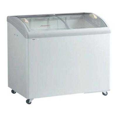 新品 パナソニック  冷凍ショーケース ( アイスクリームショーケース )SCR-PT101GJ 206リットル 曲面ガラスタイプ幅1000×奥行650×高さ890(mm)【 ショーケース 】【 冷凍庫 】