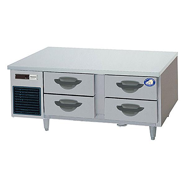 新品:パナソニック 2段ドロワーテーブル冷凍庫SUF-DG1271-2B1
