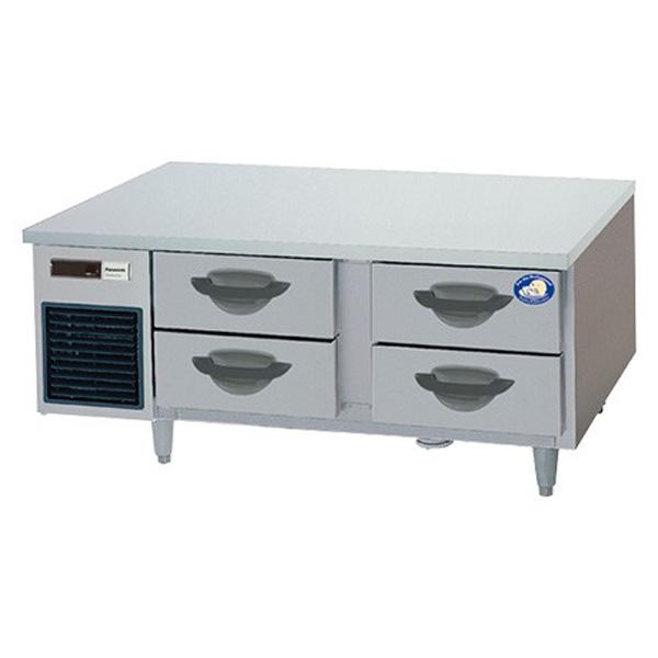 新品 パナソニック 2段ドロワーテーブル冷蔵庫SUR-DG1261-2B1