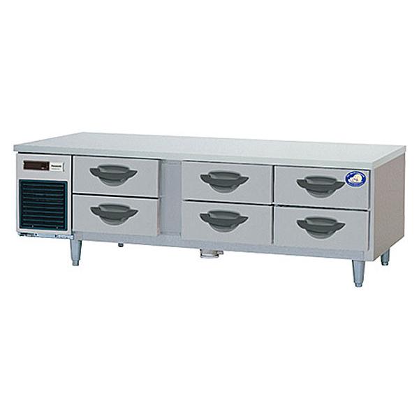 新品:パナソニック 2段ドロワーテーブル冷蔵庫SUR-DG1671-2B1