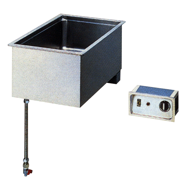 新品 ニチワ 電気卓上ウォーマー(湯煎式) ビルトインタイプTEW-900B