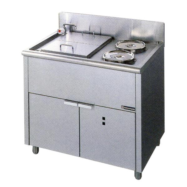 新品 ニチワ 電気ゆで麺器(湯通しタイプ) 900×600×800ENB-900N