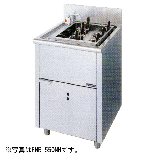 新品:ニチワ 電気ゆで麺器(ボイルタイプ) [テボ6つ]550×600×800 ENB-550NH