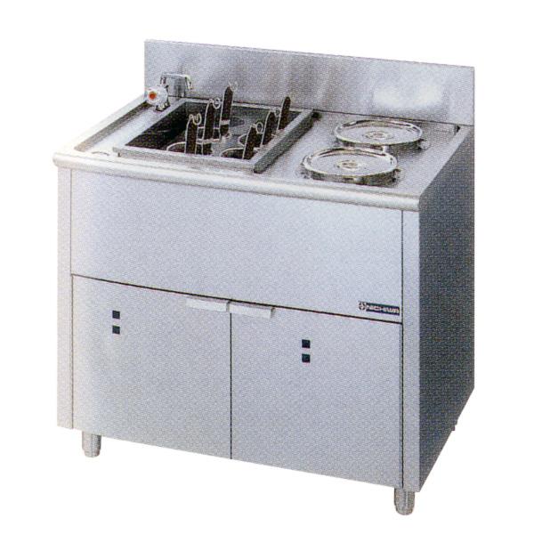 新品:ニチワ 電気ゆで麺器(ボイルタイプ) [テボ6つ]900×600×800 ENB-900NH