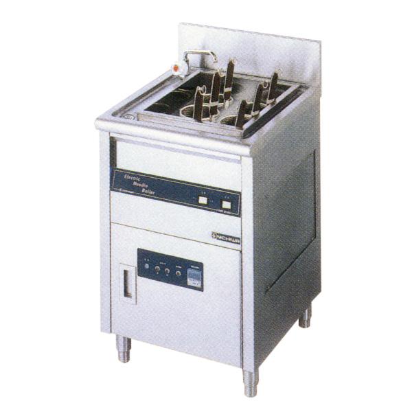 新品:ニチワ 電気ゆで麺器(ボイルタイプ) [テボ6つ]550×600×800 ENB-551NH