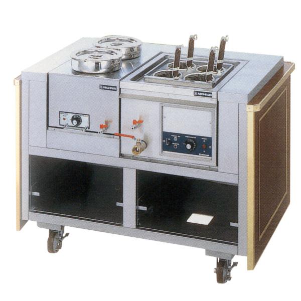 新品 ニチワ 電気麺サービスワゴン [テボ4つ]1175×770×850 ENBW-450