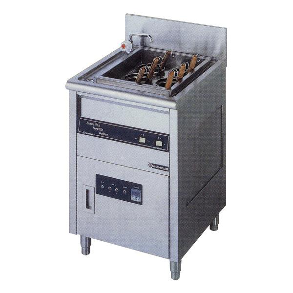 新品:ニチワ IHゆで麺器 [テボ6つ]550×600×800 MNB-550NH