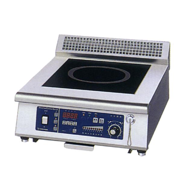 新品:ニチワ IHコンロ(電磁調理器) 卓上タイプ(1連)450×600×250 MIR-5TA-N