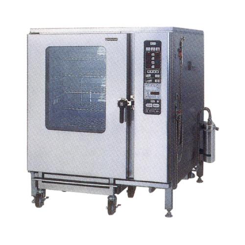 新品:ニチワ 電気スチームコンベクションオーブン SCOS-1220RH-R(L) 間口1125×奥行1025×高さ1365(mm)