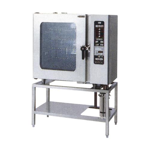 新品 ニチワ 電気スチームコンベクションオーブン SCOS-1010RH-R(L) 間口1035×奥行655×高さ1655(mm)