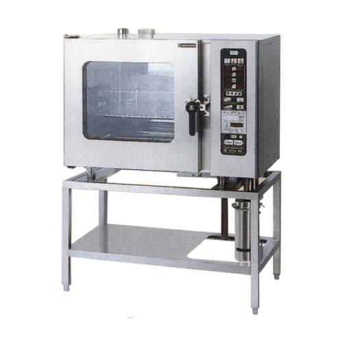 新品:ニチワ 電気スチームコンベクションオーブン  SCOS-610RH-R(L) 間口1035×奥行655×高さ1395(mm)