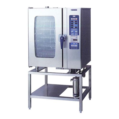 新品 ニチワ スチームコンベクションオーブン RHシリーズ スタンダードタイプ SCOS-101RH-R(L) スタンドタイプ 幅900×奥行800×高さ1655(mm) 【 スチコン 】【 オーブン スチーム 】