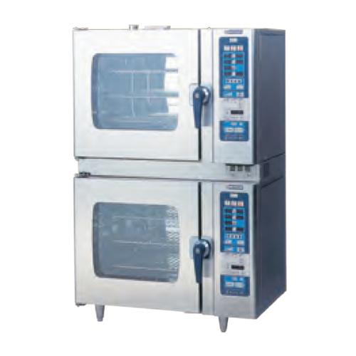 新品 ニチワ スチームコンベクションオーブン RHシリーズ スタンダードタイプ SCOS-6623RH-R(L)2段積タイプ幅860×奥行750×高さ1605(mm)【 スチコン 】【 オーブン スチーム 】