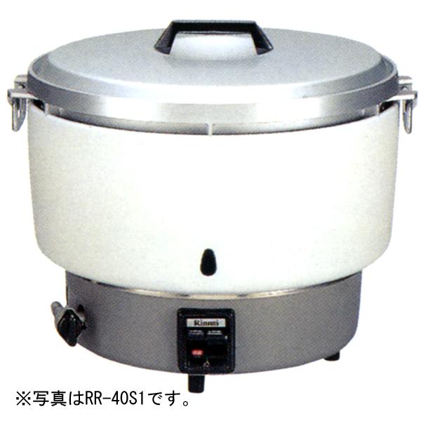 新品 リンナイ 4升炊き卓上型ガス炊飯器(普及型) RR-40S1-F 内釜フッ素仕様