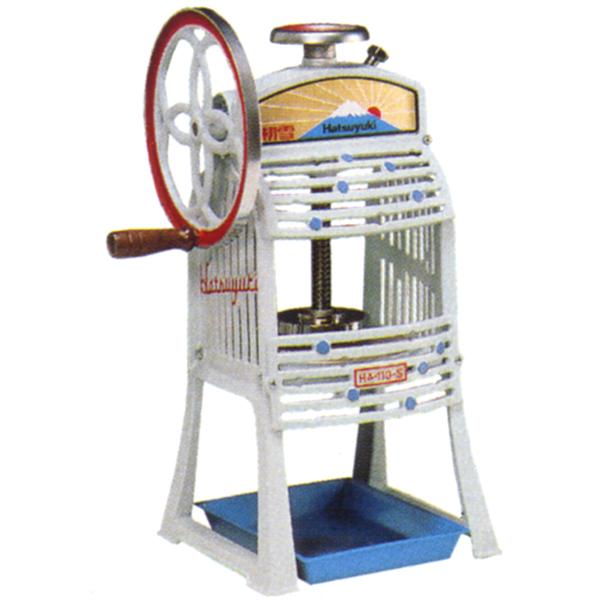Chubu Corporation snow block ice slicer (poker ice machine) HA-110S