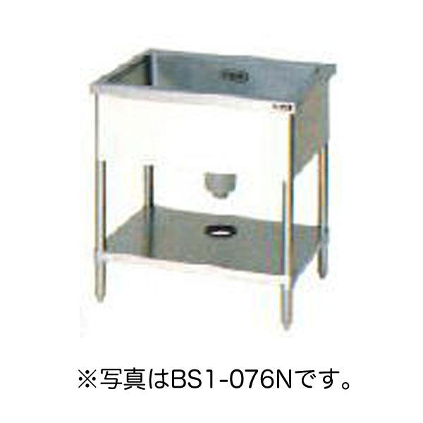 新品 マルゼン一槽シンク ブリームシリーズ(バックガードなし)幅1500×奥行750×高さ800(mm)BS1-157N