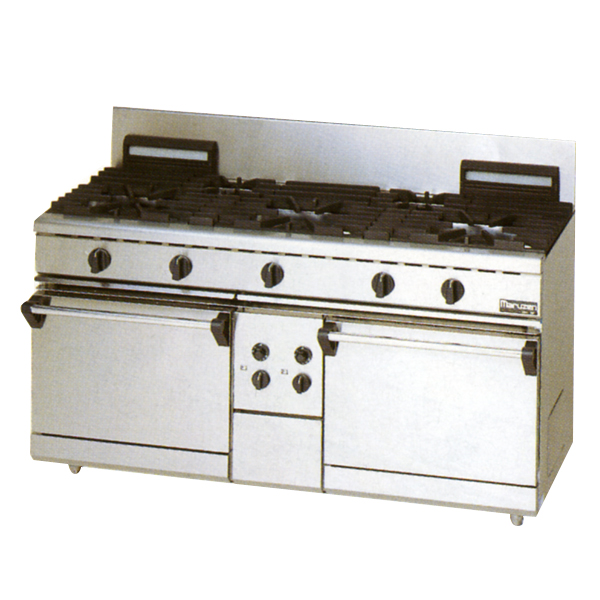 Maruzen gas stove NEW power Cook series 1,500mm in width five shares cooker +2 oven RGR-1565C (an old model number: RGR-1565B)