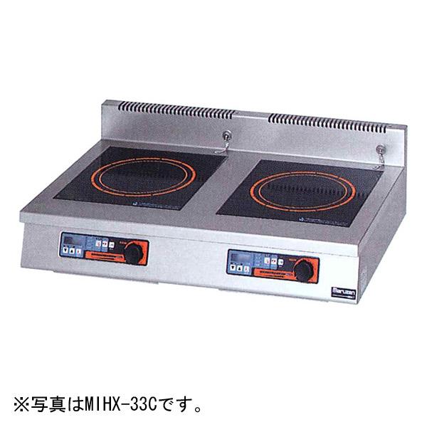 新品:マルゼン IHクリーンコンロ卓上型(電磁調理器・タイマー付) 900×600×170 MIHX-66C