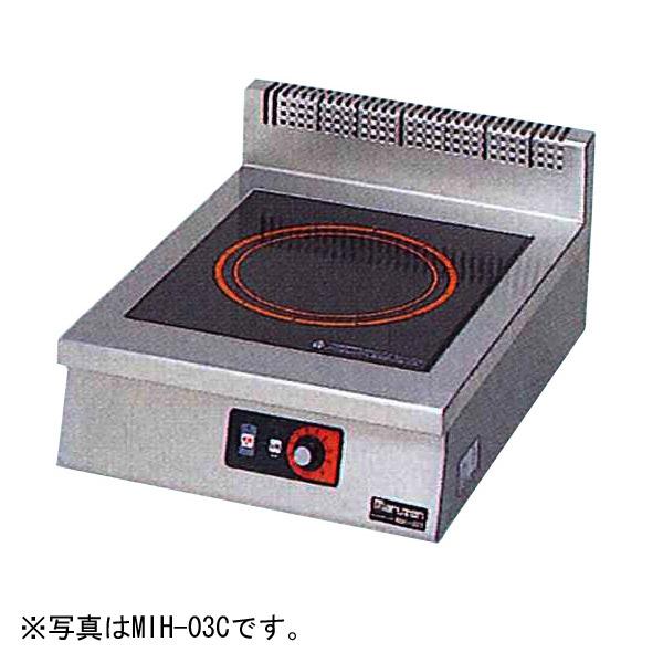 新品 マルゼン IHクリーンコンロ卓上型(電磁調理器)450×600×170 MIH-06C