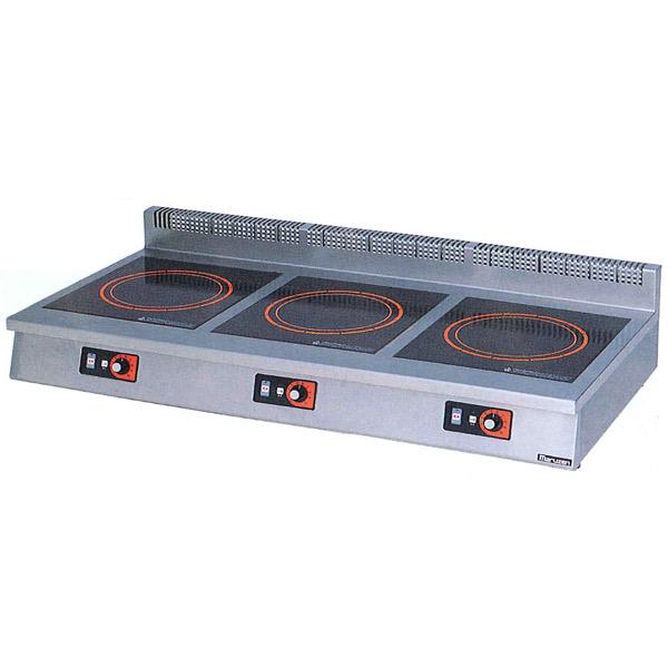 新品:マルゼン IHクリーンコンロ卓上型(電磁調理器)1200×600×170 MIH-333C