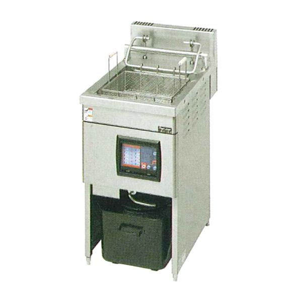 新品:マルゼン 低周波電磁オートリフトフライヤー18リットルタイプ MIF-18LC