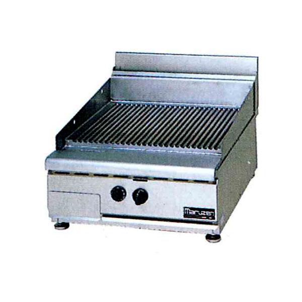 新品:マルゼン 卓上型グルーブドグリドル NEWパワークックシリーズ幅600mm RGG-067T