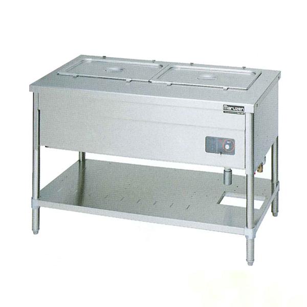 新品 マルゼン 電気ウォーマーテーブルパイプ脚タイプ MEWP-126
