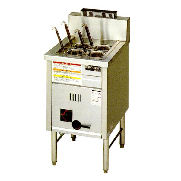 【メーカー保証+当店特別保証 合計2年保証付き!】新品 マルゼン 1槽式 角槽型ゆで麺器[ゆでカゴ4つ]MRK-046B