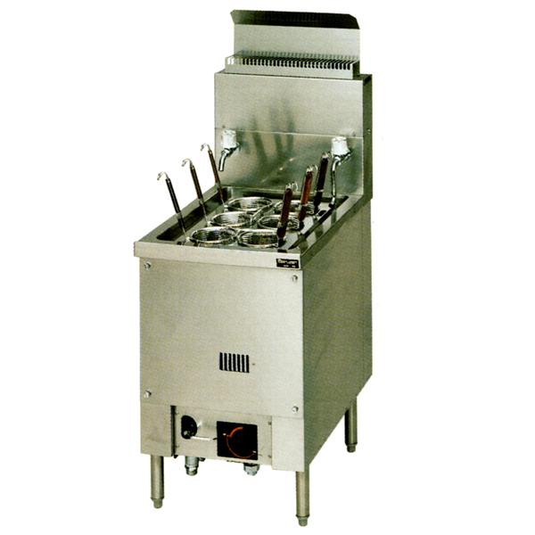 新品:マルゼン 1槽式 ハイグレード自動ゆで麺機[ゆでカゴ6つ]MRH-06