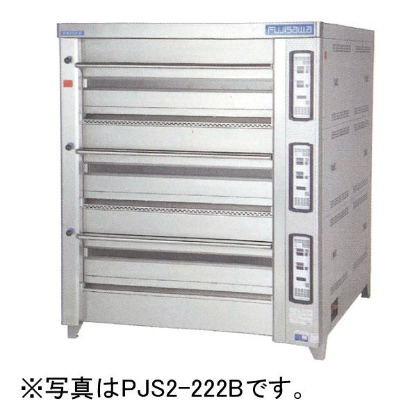新品 フジサワマルゼン プリンスオーブン(デッキオーブン) PJA3-111B 幅1565×奥行1255×高さ1710(mm)