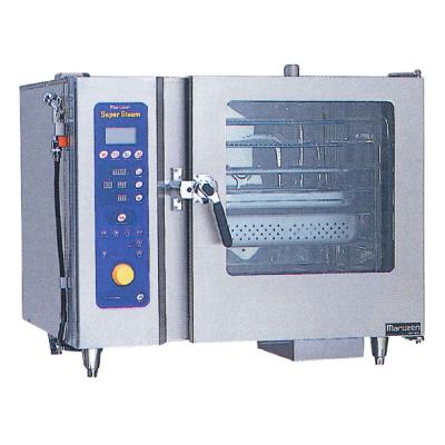 新品 マルゼン 電気式スチームコンベクションオーブンスーパースチーム デラックスシリーズ幅1030×奥行750×高さ840(mm)洗浄機能付SSC-C06DCNU