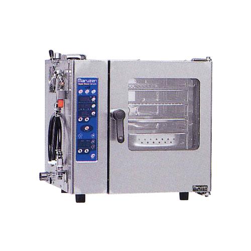 新品:マルゼン 電気式スチームコンベクションオーブンスーパースチーム シンプルシリーズ幅600×奥行505×高さ585(mm)三相200VSSCS-04MNU