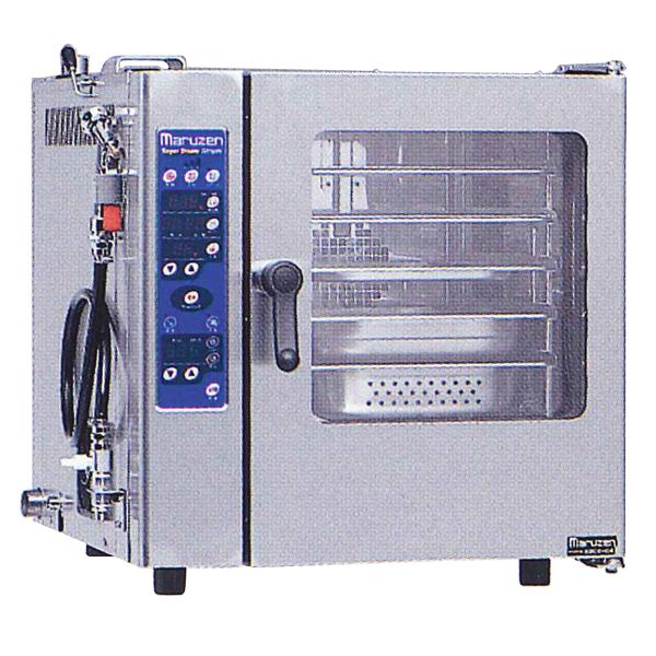 新品:マルゼン電気式スチームコンベクションオーブンスーパースチームシンプルシリーズ幅630×奥行650×高さ645(mm)三相200VSSCS-05MNU【smtb-f】