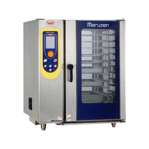 新品 マルゼン 電気式スチームコンベクションオーブンスーパースチーム エクセレントシリーズ幅900×奥行830×高さ1090(mm)ハンドシャワー外付け式SSCX-10HNU