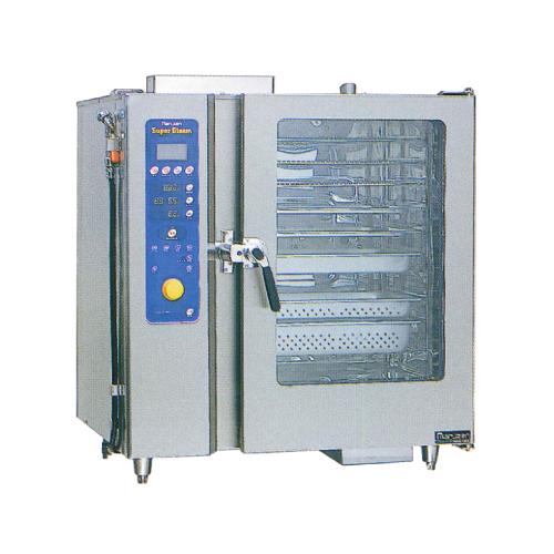 新品 マルゼン ガス式スチームコンベクションオーブンスーパースチーム デラックスシリーズ幅1030×奥行750×高さ1100(mm)ハイグレードモデル 洗浄機能付SSCG-C10DCNU