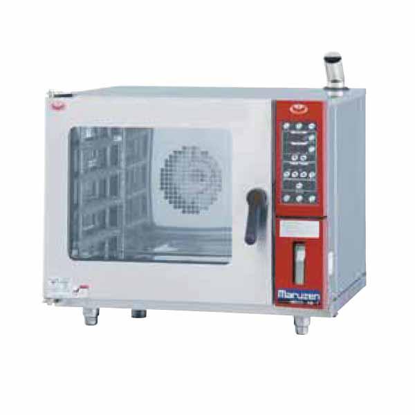 新品:マルゼン貯水タンク式コンベクションオーブン 幅700×奥行700×高さ580(mm) MBCO-T4ME
