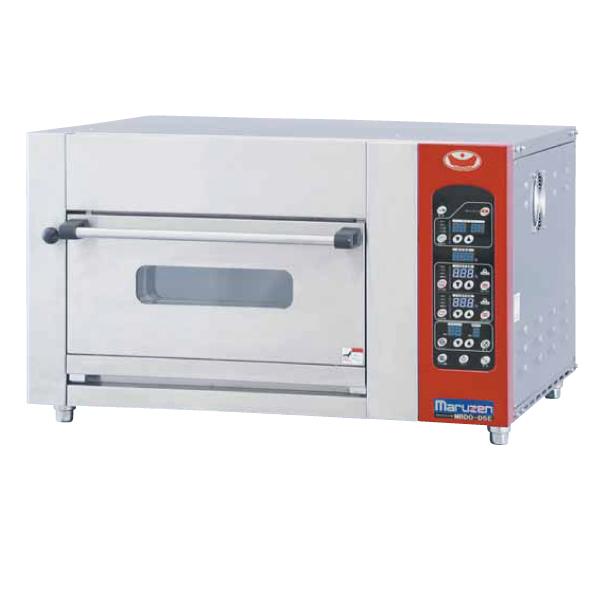 新品:マルゼン ミニデッキオーブン MBDO-4E (炉床鉄板 加湿装置なし) 幅770×奥行645×高さ550(mm)