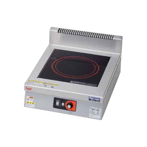 新品 マルゼン IHクリーンコンロ卓上型(電磁調理器)450×600×170 MIH-03D