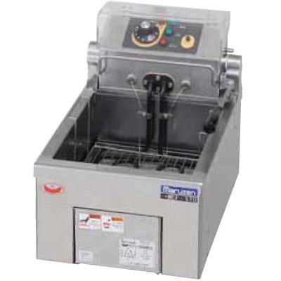 新品:マルゼン 電気フライヤー 卓上タイプ(5リットル×一槽式) MEF-5TAE