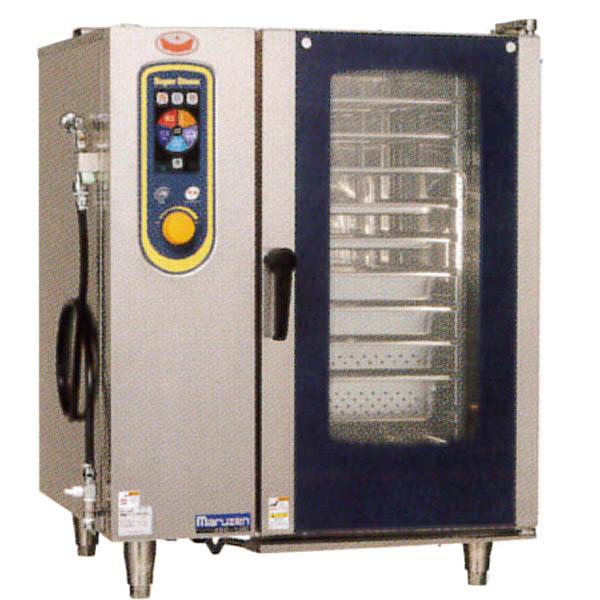 新品:マルゼン 電気式スチームコンベクションオーブン スーパースチーム デラックスシリーズ 幅845×奥行775×高さ1080(mm) SSC-10D