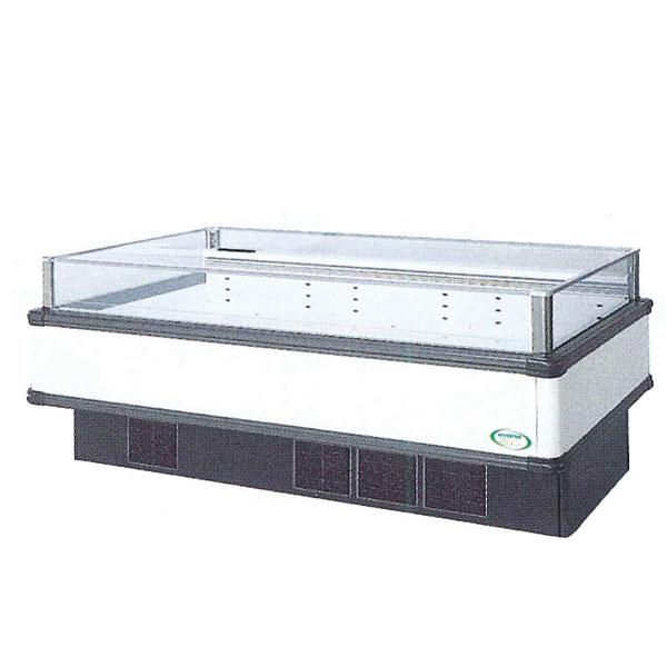 新品 福島工業(フクシマ) インバーター制御アイランドショーケース冷凍・冷蔵切替スーパーワイドレンジタイプ幅1800×奥行900×高さ850(mm)IMC-65QWFTAX