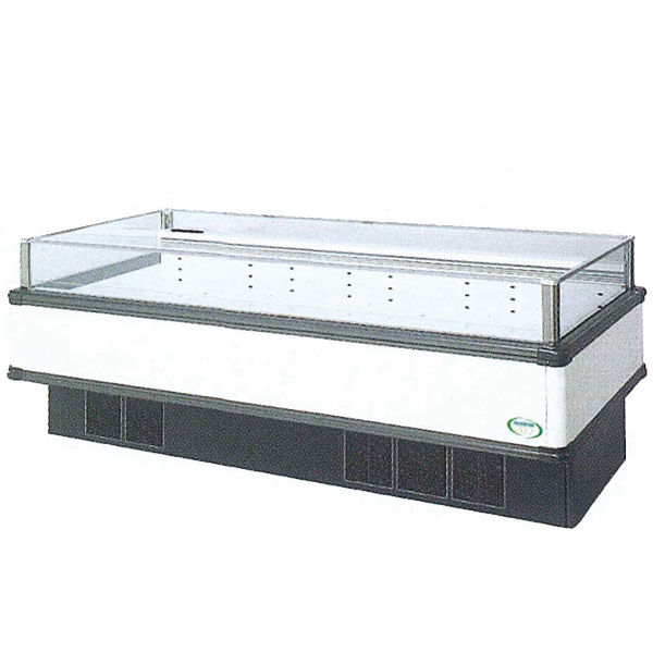 新品:福島工業(フクシマ)インバーター制御アイランドショーケース冷凍・冷蔵切替ワイドレンジタイプ幅2271+(64.5×2)×奥行900×高さ850(mm)IMC-85PWFTAX